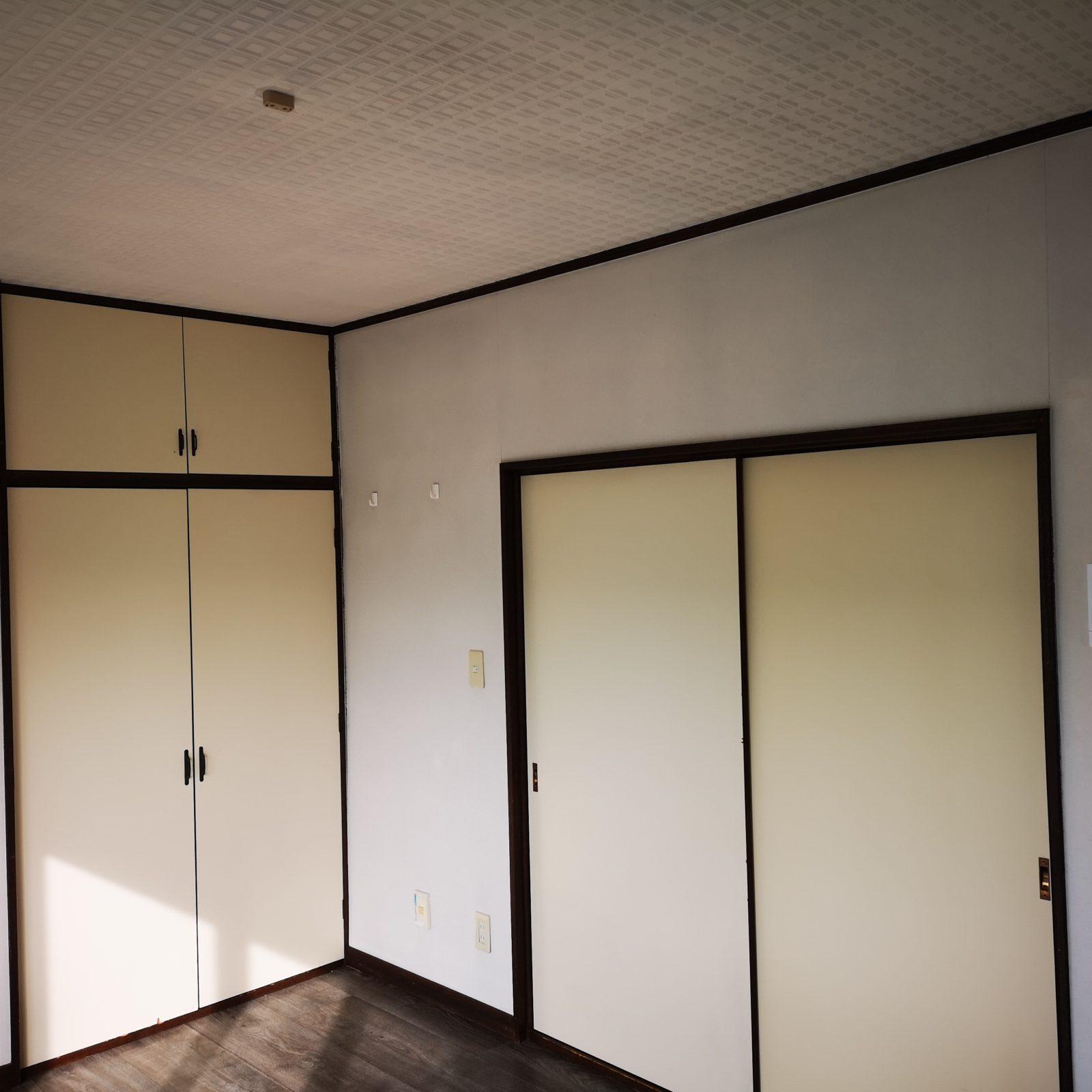 室内・収納ドア(リメイクシート施工)